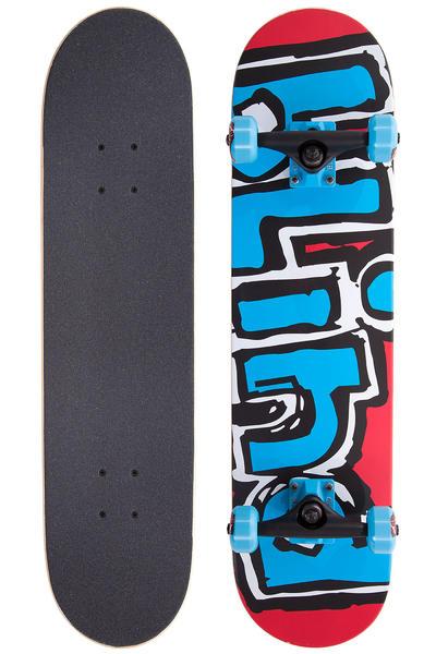 """Blind Matte OG Logo 7.75"""" Complete-Board (red blue)"""