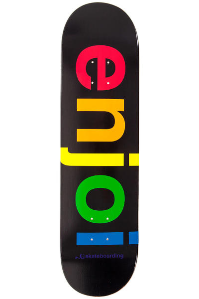 "Enjoi Spectrum 8.25"" Deck (black)"