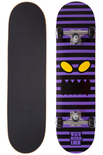 "Toy Machine Monster Face Stripe 7.875"" Komplettboard (purple)"