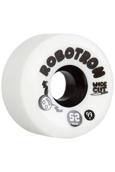 Robotron Wide Cut 52mm Rueda 4er Pack (white)