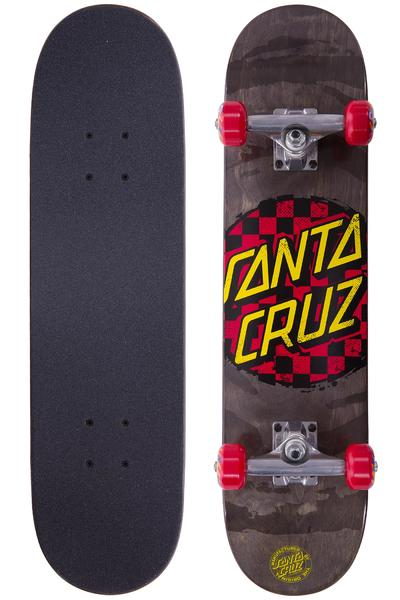 "Santa Cruz Check Dot Mini 7"" Complete-Board (black red)"