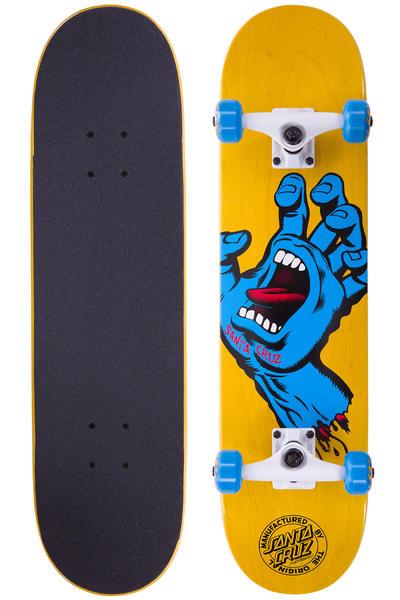 "Santa Cruz Screaming Hand Regular 7.5"" Tabla-completa (wood blue)"