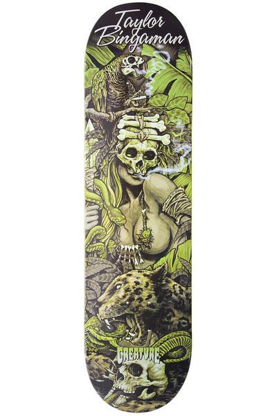 "Creature Bingaman Predator 8.25"" Deck (black green)"