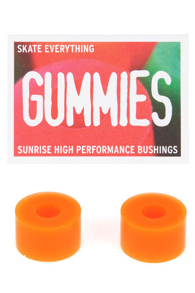 Sunrise Gummies Double Barrel 80A Bushings (orange)