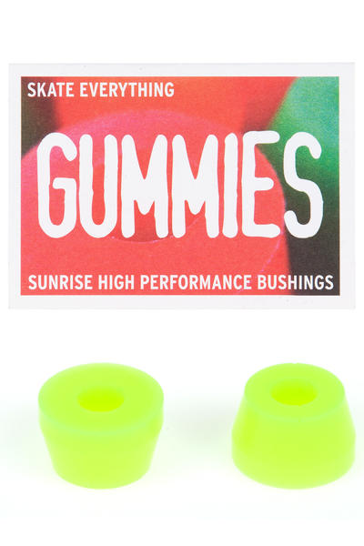 Sunrise Gummies Double Cone 85A Lenkgummi (yellow)