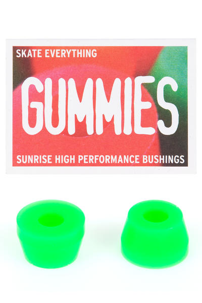 Sunrise Gummies Double Cone 90A Lenkgummi (green)