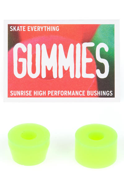 Sunrise Gummies Barrel Cone 85A Lenkgummi (yellow)