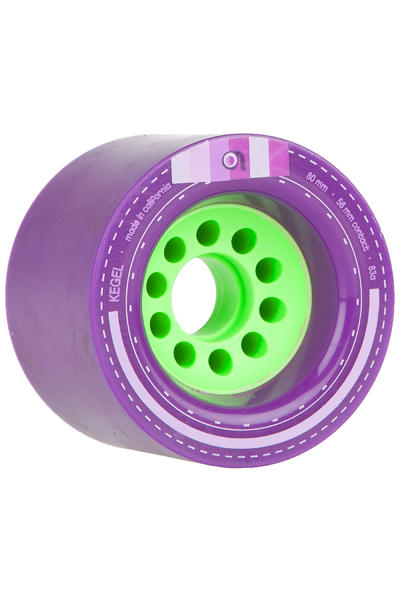 Orangatang Kegel 80mm 83A Rollen (purple) 4er Pack