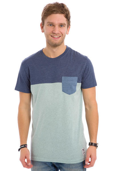Iriedaily Block Pocket T-Shirt (mintgrey)
