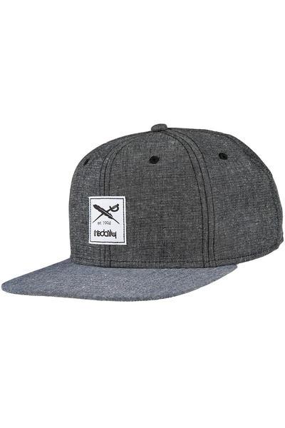 Iriedaily Flag Chambray Snapback Cap (black)