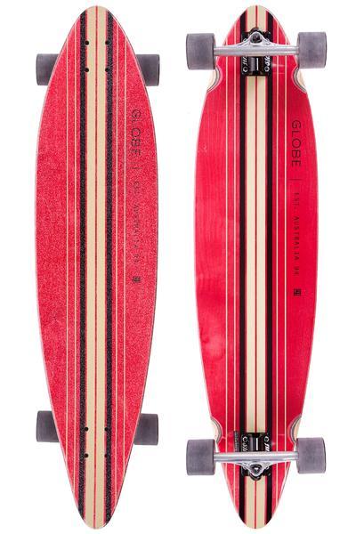 "Globe Pinner 41.25"" (105cm) Complete-Longboard (red black)"