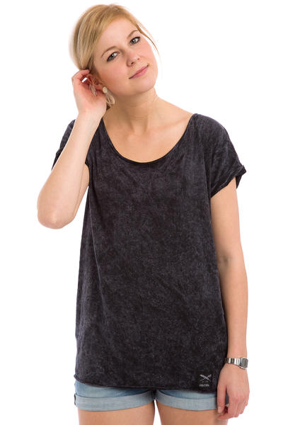 Iriedaily Vintage Loose T-Shirt women (black wash)