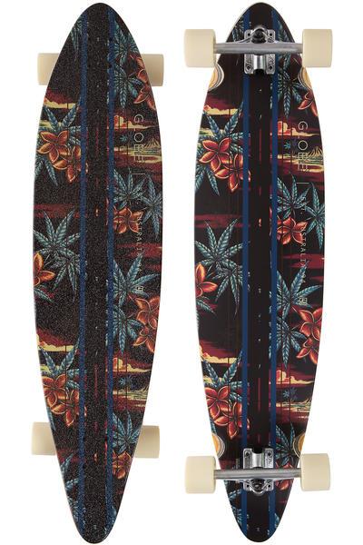 """Globe Pinner 41.25"""" (105cm) Komplett-Longboard (black red pakalolo)"""