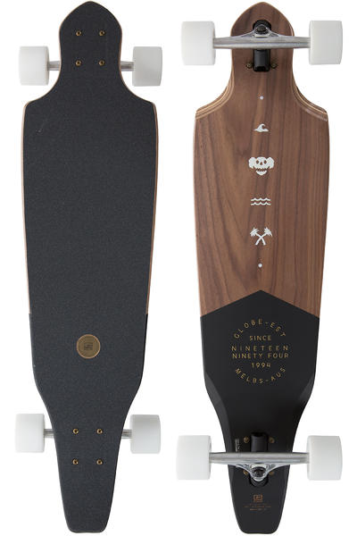 "Globe The Cutler 36.5"" (92,7cm) Longboard-completo (walnut)"