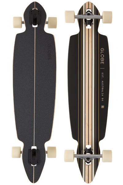 "Globe Pinner Drop-Through 41"" (104cm) Longboard-completo (black gold)"