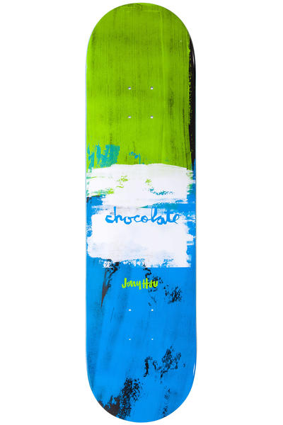 "Chocolate Hsu Subtle Square 8.125"" Deck (multi)"