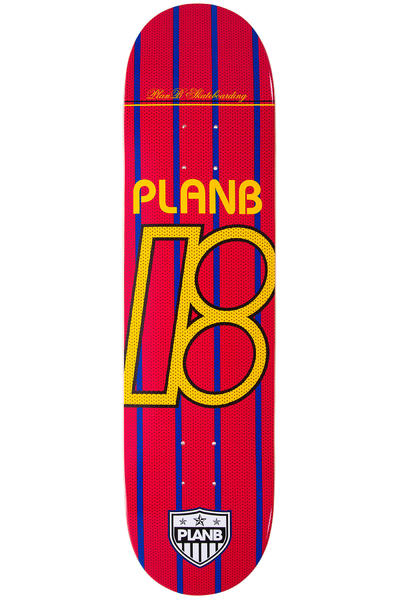 "Plan B Team United 8"" Deck (red yellow)"