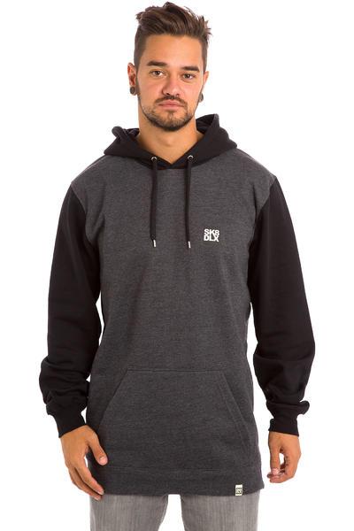 SK8DLX Coresk8 Snow Hoodie (black grey heather)