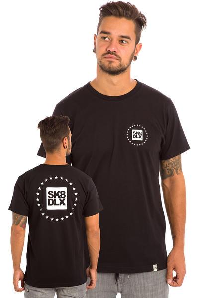SK8DLX Stars T-Shirt (black)