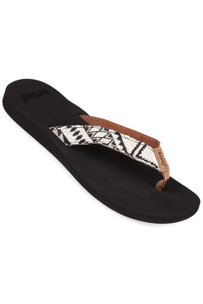 Reef Midday Tides Sandale women (black white)