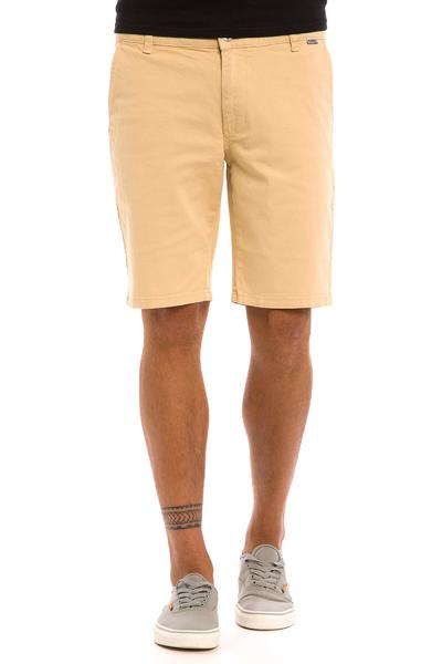 Cleptomanicx Port Slim Chino Shorts (sand)