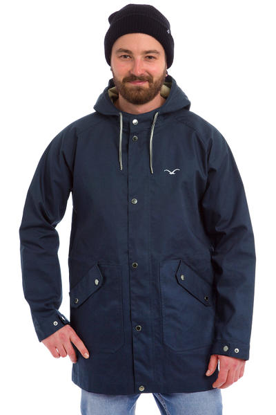 Cleptomanicx Spotter Jacket (dark navy)