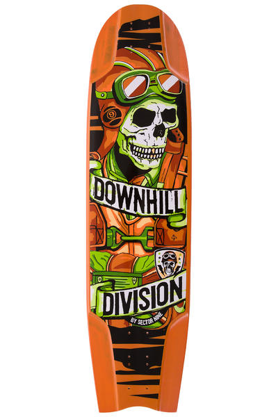 "Sector 9 Bomber DHD 37"" (94cm) Longboard Deck (orange)"