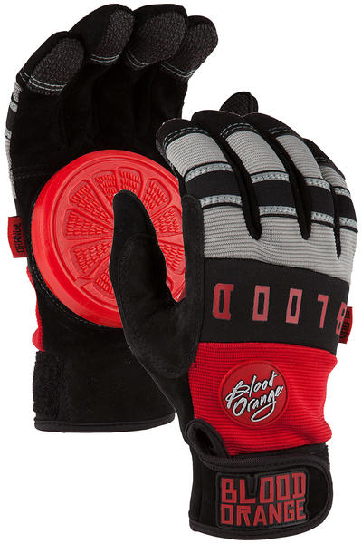 Blood Orange Knuckle Slide Gloves (red grey)