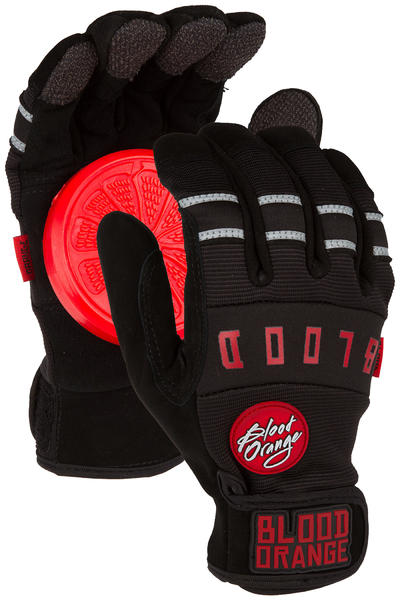 Blood Orange Knuckle Slide Gloves (black black)