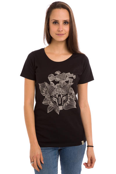 SK8DLX Foxy T-Shirt women (black)