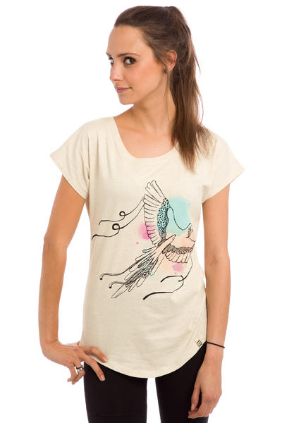 SK8DLX Cookie T-Shirt women (creme heather)