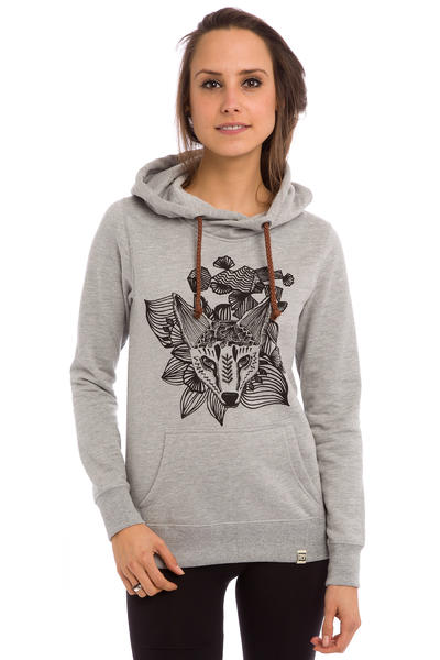 SK8DLX Fox Hoodie women (grey heather)