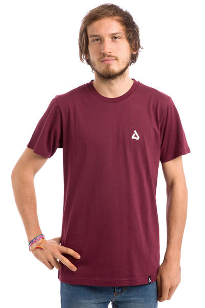 Anuell Louis T-Shirt (burgundy)