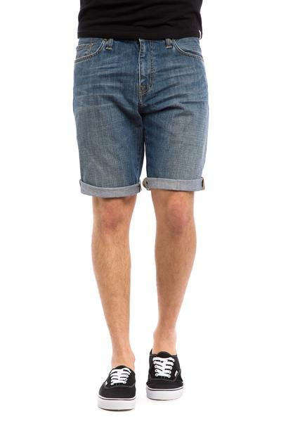 Carhartt WIP Davies El Cajon Shorts (blue scratch washed)