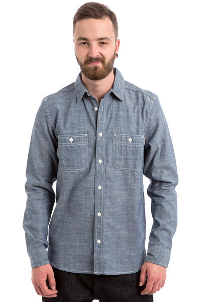 Carhartt WIP Clink Hemd (blue rigid)