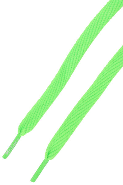 Mr. Lacy Flatties Cordones (neon green)