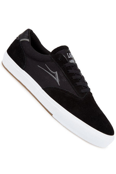 Lakai Guymar Suede Shoe (black white)