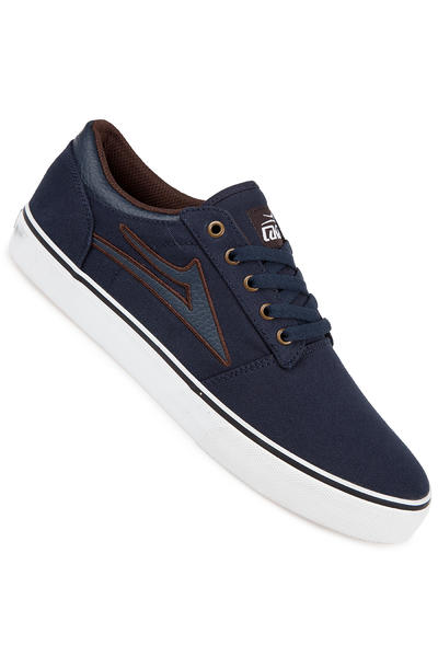 Lakai Brea Adobe Canvas Shoe (navy)