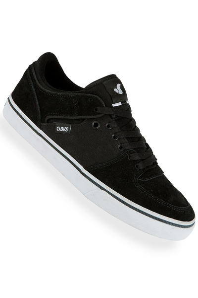 DVS Torey Low Suede Shoe (black)