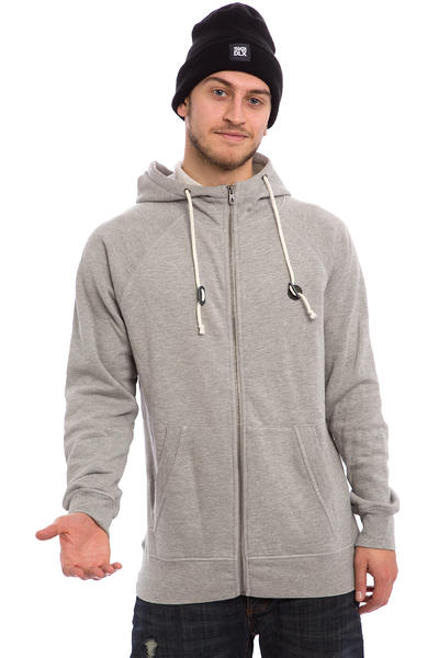 Volcom Pulli Zip-Hoodie (heather grey)