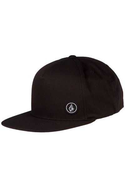 Volcom Single Stone Basic Snapback Cap (black)