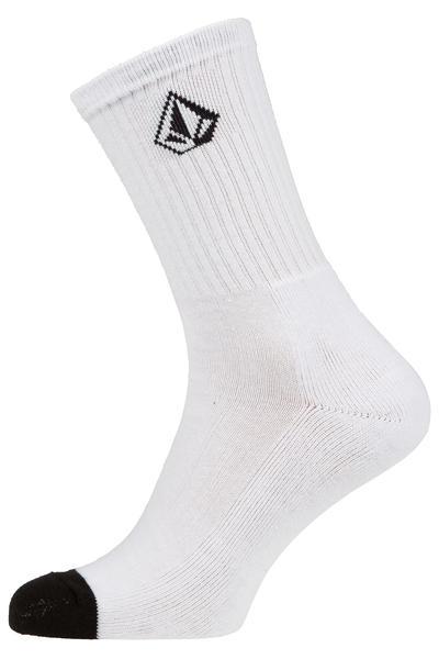 Volcom Full Stone Socks US 9-12 (white)