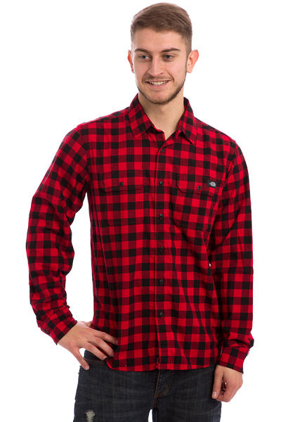 Dickies Jacksonville Hemd (fiery red)