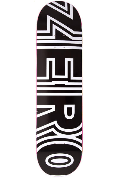 "Zero Team Bold 8.25"" Deck (black)"