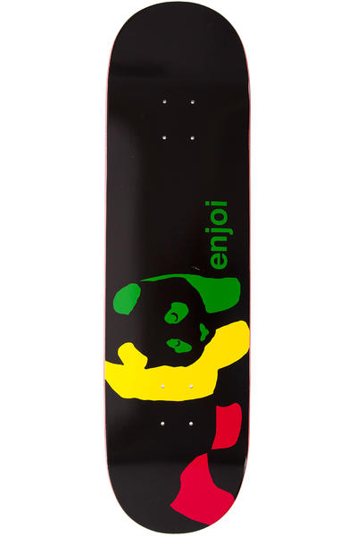 "Enjoi Team Rasta Panda R7 8.375"" Deck (black)"