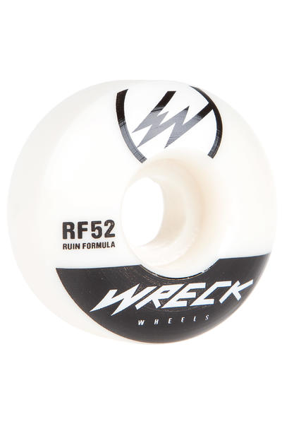Wreck W1 52mm Roue (white) 4 Pack