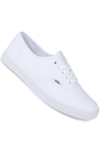 Vans Authentic Lo Pro Shoe women (true white true white)