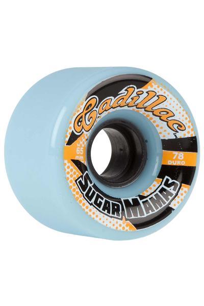Cadillac Wheels Sugar Mamas 65mm 78A Rollen (blue) 4er Pack