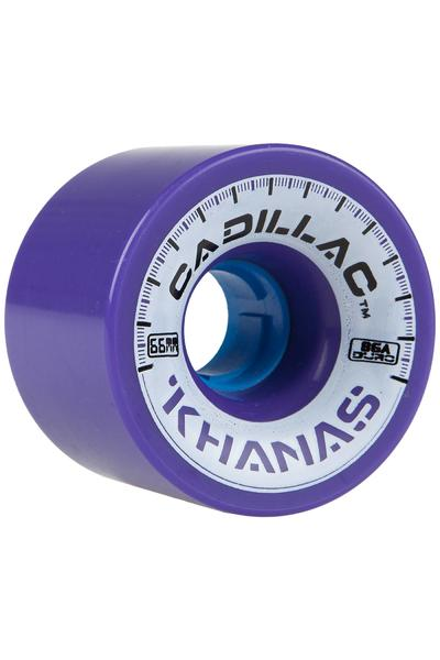 Cadillac Wheels Khanas 66mm 86A Roue (purple) 4 Pack