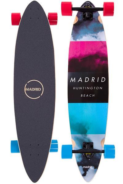 "Madrid Blunt 38"" (96,5cm) Complete-Longboard (cloud)"